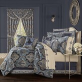 Thumbnail for your product : J Queen New York Middlebury 4-Piece Queen Comforter Set in Indigo