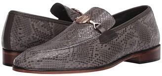 Stacy Adams Barrino Moc Toe Slip-On (Gray) Men's Shoes