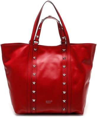 RED Valentino Star Stud Embellished Tote Bag