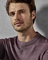 NEWAB Garment-dyed wool jumper