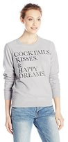 Chaser Women's Cocktails Kisses and Happy Dreams Sweatshirt