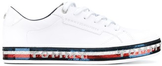 Tommy Jeans Sequin-Embellished Sneakers