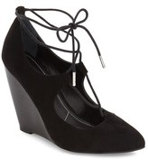 Charles by Charles David Ima Ghillie Lace Wedge