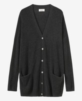 Toast Long Cashmere/Wool Cardigan