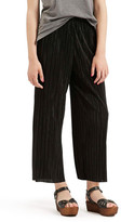 Topshop Pleated Crop Trouser