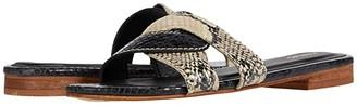 Kaanas Santorini Snake Infinity Sandal (Snake) Women's Shoes