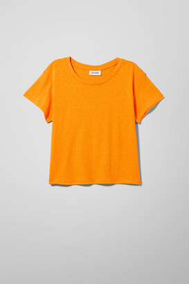 Weekday Misty Tee - Orange