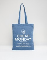 Cheap Monday Denim Shopper Bag