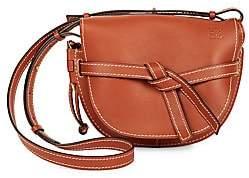 Loewe Women's Small Gate Leather Saddle Bag