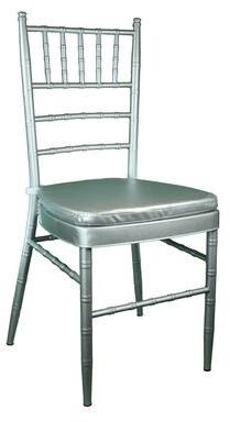 Bungalow Rose Bevilacqua Upholstered Metal Side chair Color: Dark Silver