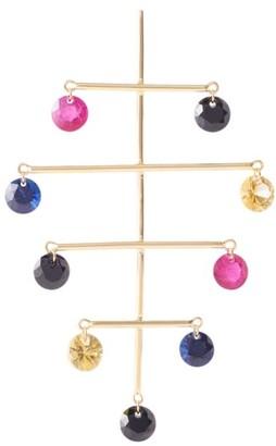 PERSÉE Mobiles 18K Yellow Gold & Multi-Stone Drop Earrings
