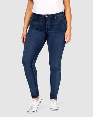 Jeanswest Freeform 360 Curve Embracer Skinny Jeans Imperial Blue