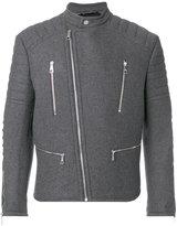 Neil Barrett biker jacket - men - Polyamide/Polyester/Spandex/Elastane/Wool - XS