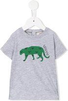 Armani Junior crocodile print T-shirt - kids - Cotton - 6 mth