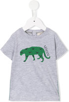 Armani Junior crocodile print T-shirt