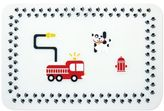 Bumkins Fire Engine Reusable Silicone Placemat