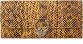 Salvatore Ferragamo Gancio Clasp Leather Continental Wallet