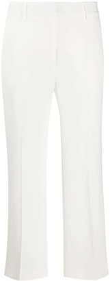 Alberto Biani Low-Waist Cropped Trousers