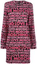 Love Moschino logo print jumper dress