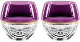 Waterford Crystal Elysian Rock Glasss Purple Pair