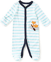 Starting Out Baby Boys Newborn-6 Months Fox-Appliqued Footed Coverall