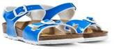 Birkenstock Neon Blue Rio Sandals