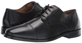 Florsheim Montinaro Cap Toe Oxford (Black Smooth) Men's Lace Up Cap Toe Shoes