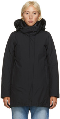Herno Black Down Goretex Hilo Jacket