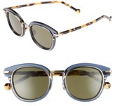 Christian Dior Women's Origins 1 53Mm Round Sunglasses - Blue