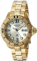 Invicta Women's 19820 Pro Diver Analog Display Swiss Quartz Gold Watch