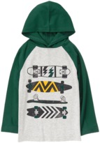 Crazy 8 Hooded Raglan Tee