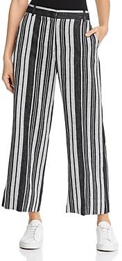 Max Mara Utopia Striped Linen-Blend Pants