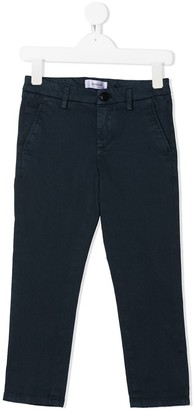 Dondup Kids Mid-Rise Straight Chinos