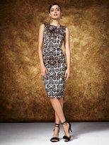 New York & Co. Midi Sheath Dress - Jacquard
