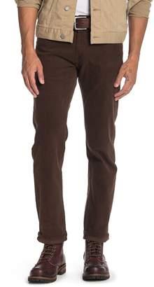 "Lucky Brand 221 Corduroy Stretch Straight Leg Jeans - 30-34"" Inseam"