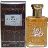 Ralph Lauren SAFARI by for MEN: EDT SPRAY 2.5 OZ
