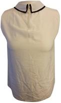 Hobbs White Silk Top for Women