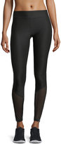 X by Gottex Mesh-Inset Reflective Leggings
