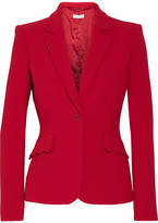 Altuzarra Gromwell Crepe Blazer - Crimson