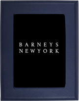 Barneys New York Leather Picture Frame