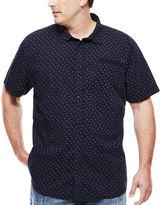 i jeans by Buffalo Mick Short-Sleeve Mini Dot Button-Front Shirt - Big & Tall