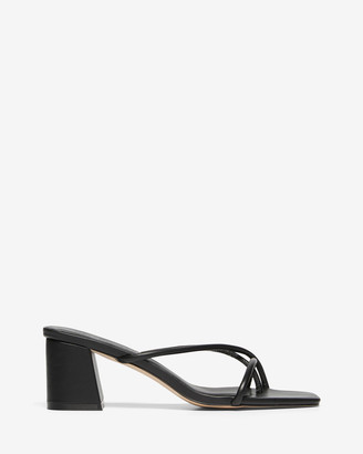 Nelson Made - Women's Black Heeled Sandals - Roma - Size One Size, 38 at The Iconic
