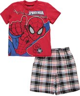 "Spiderman Little Boys' Toddler ""On the Way"" 2-Piece Outfit"
