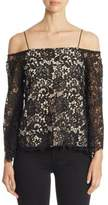 Alice + Olivia Prena Lace Top
