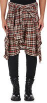 R 13 Men's Vedder Cotton Shorts & Leggings-Red Size 30