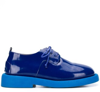 Marsèll Patent Lace-Up Shoes