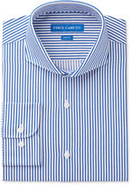 Vince Camuto Men's Slim-Fit Blue/White Stripe Dress Shirt