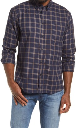 Billy Reid Standard Fit Plaid Button-Down Flannel Shirt