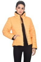 AX Paris Mustard Puffer Jacket