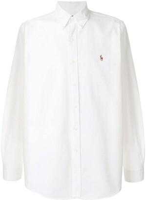 Polo Ralph Lauren logo embroidered shirt